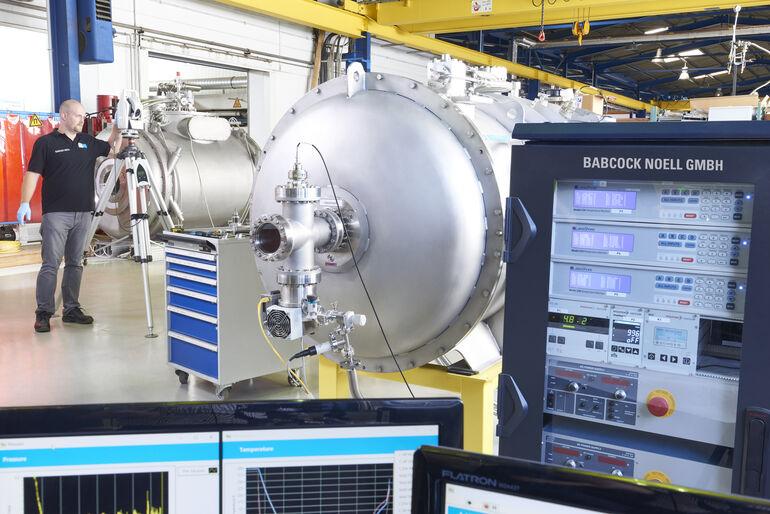Bilfinger Noell GmbH, Fertigung von supraleitenden Spezialsystemen für Teilchenbeschleuniger