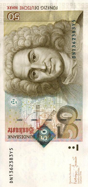 50 DM Schein